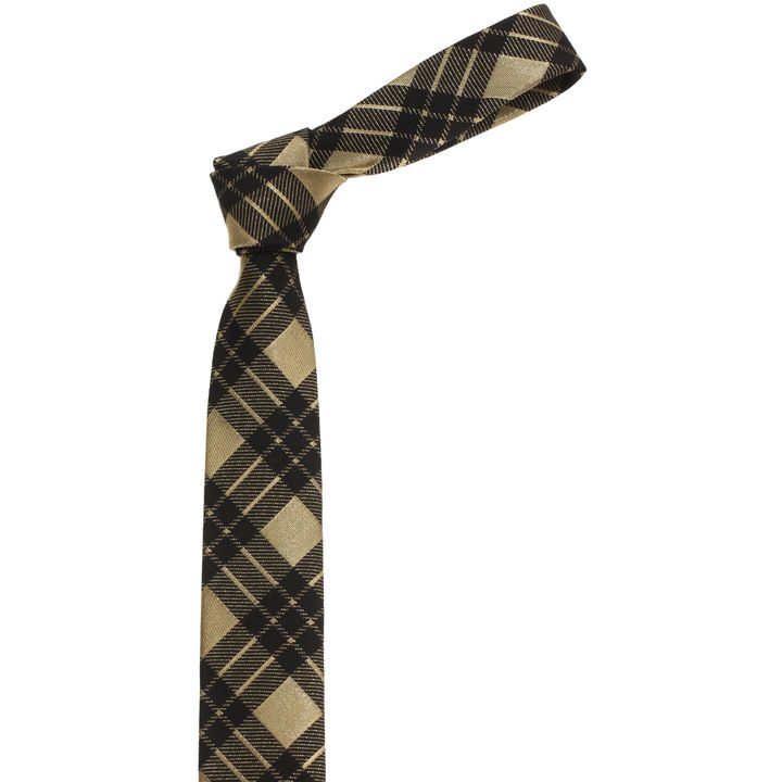 Alexander McQueen, Check Lurex Tie