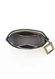 ALEXANDER WANG LARGE CHASTITY MAKE UP CLUTCH IN CONTRAST TIP CITRON SMALL LEATHER GOOD Adult 8_n_d