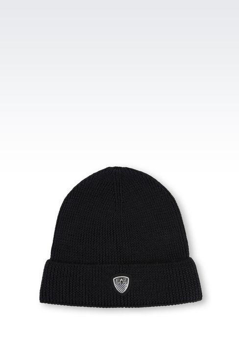 WOOL BLEND HAT: Hats Men by Armani - 1