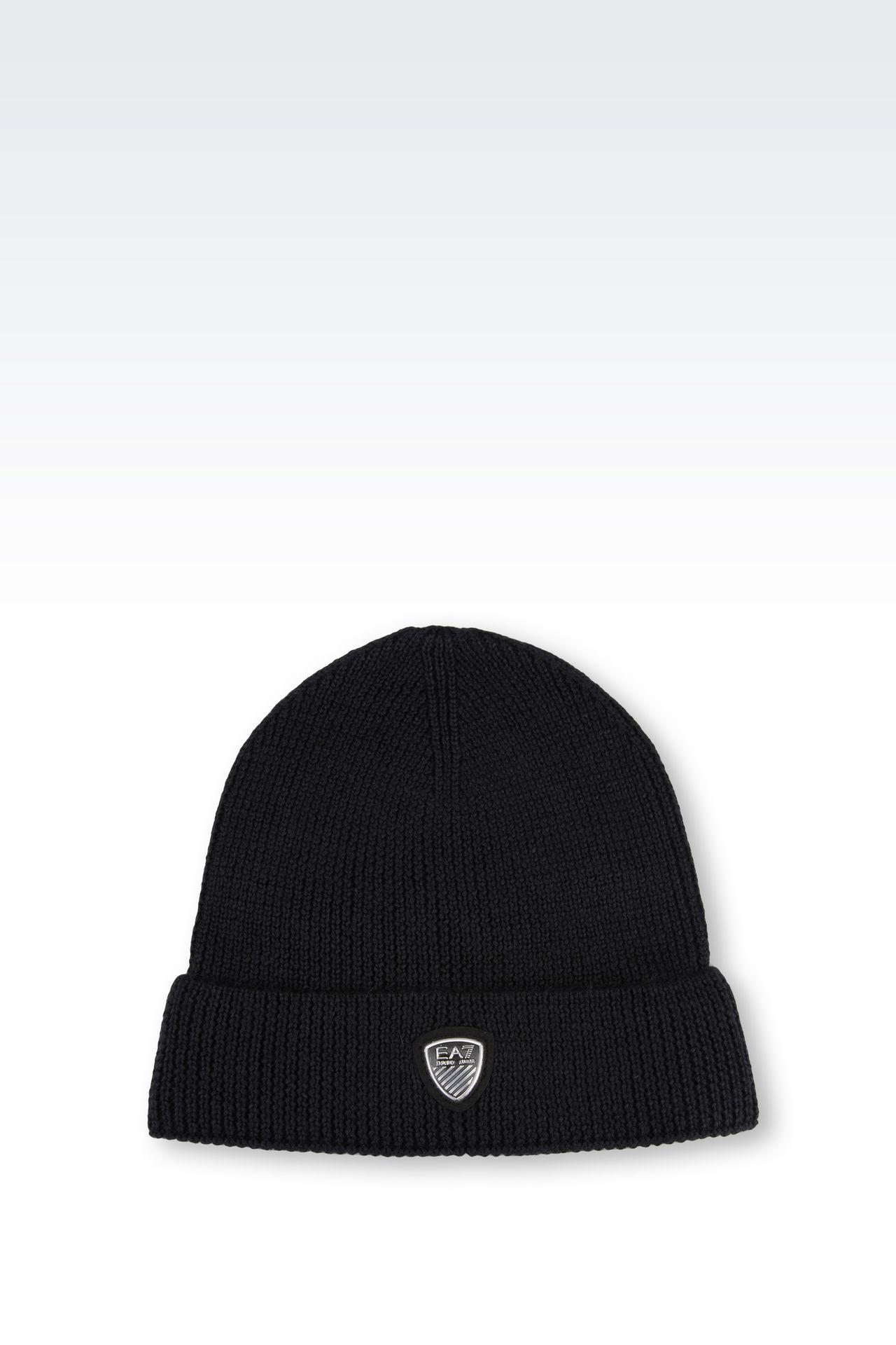 WOOL BLEND HAT: Hats Men by Armani - 0