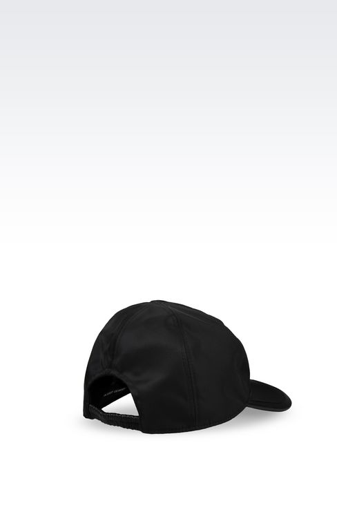BASEBALL CAP IN TECHNICAL FABRIC: Hats with visor Men by Armani - 2