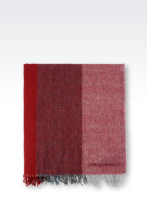 SCARF IN MULTI-COLOURED CASHMERE: Scarves Women by Armani - 2