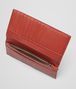 BOTTEGA VENETA Edoardo Burnt Red Intrecciato Washed Vintage Continental Wallet Continental Wallet U ap