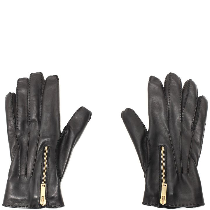 Alexander McQueen, Zip Leather Gloves