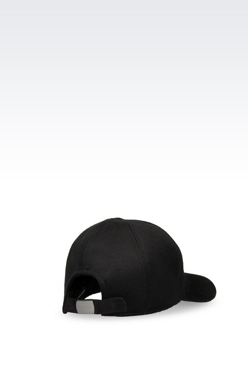 BASEBALL CAP IN CASHMERE: Hats with visor Men by Armani - 2