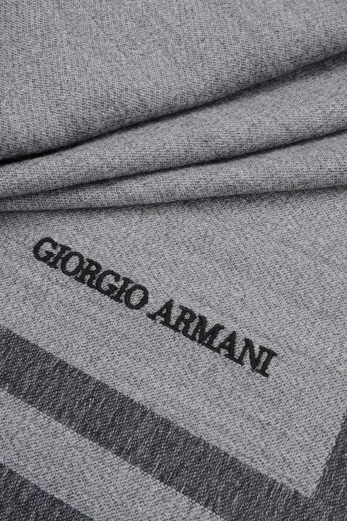 WRAP IN WOOL AND MODAL: Stoles Men by Armani - 3