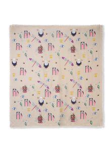 Square scarf - MARY KATRANTZOU