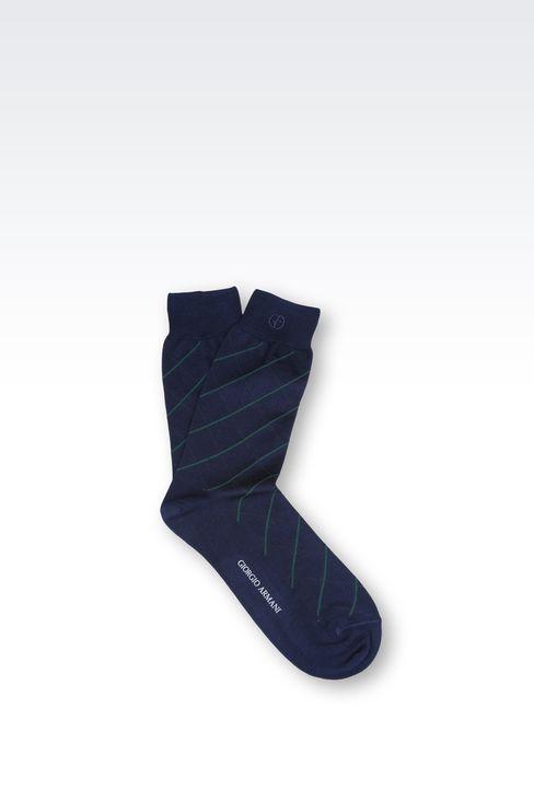 COTTON SOCK: Socks Men by Armani - 1