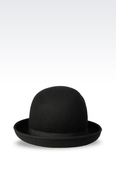 FELT RUNWAY HAT: Hats Women by Armani - 2