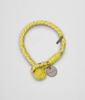 NEW CHARTREUSE INTRECCIATO AYERS NAPPA BRACELET