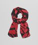 BOTTEGA VENETA SIENNA BLACK CASHMERE SILK WOOL SCARF Scarf or other D fp