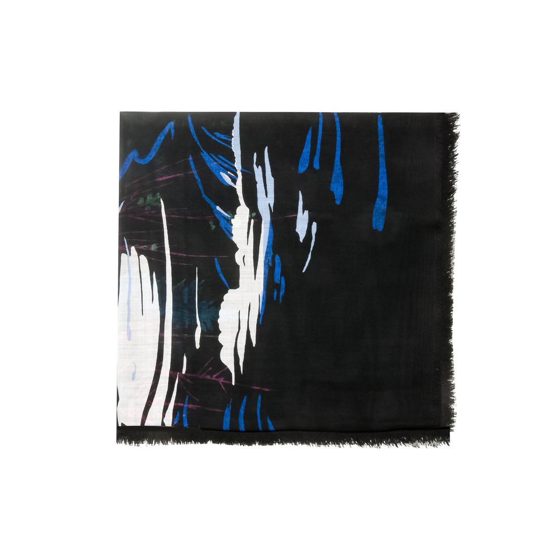 Balenciaga Schal mit Landschaftsprint