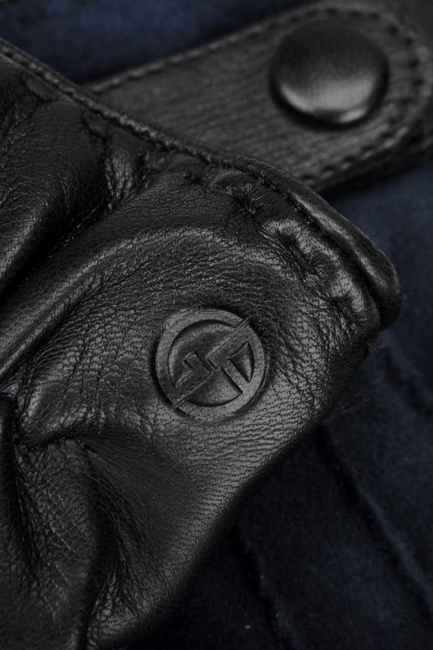 SUEDE AND NAPPA GLOVE: Gloves Men by Armani - 3