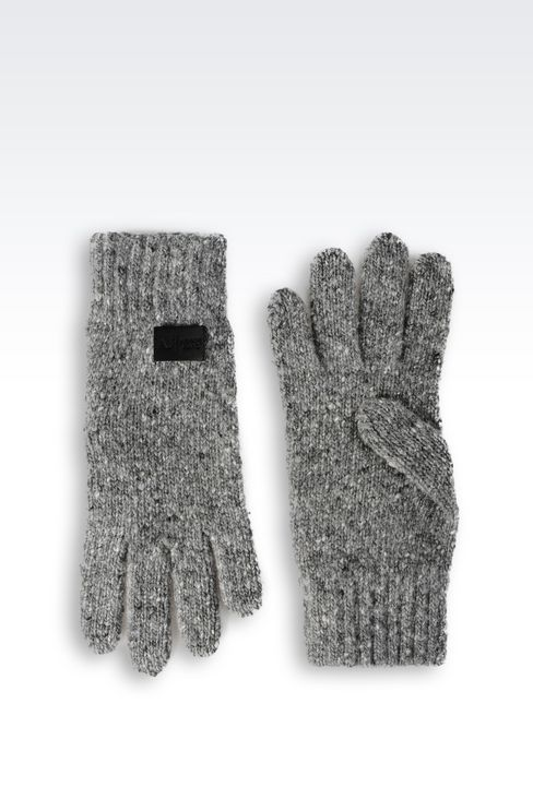WOOL GLOVE: Gloves Men by Armani - 2