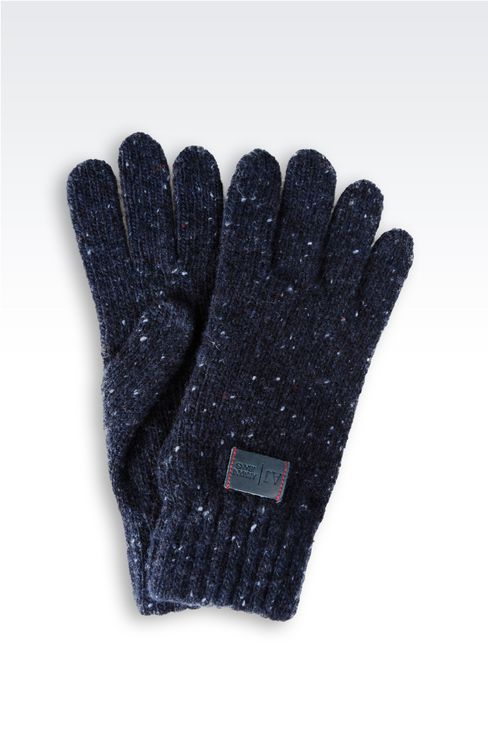 WOOL GLOVE: Gloves Men by Armani - 1