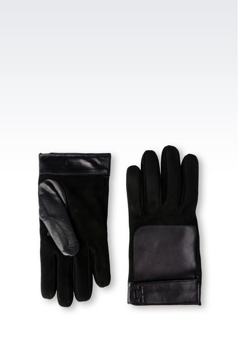 LAMBSKIN GLOVE: Gloves Men by Armani - 2