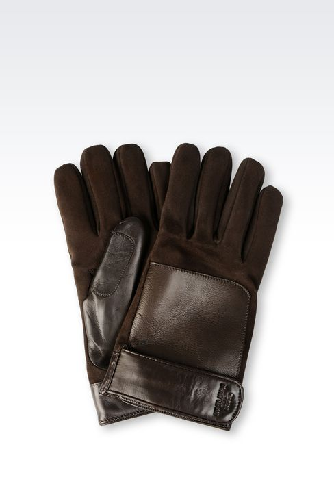 LAMBSKIN GLOVE: Gloves Men by Armani - 1