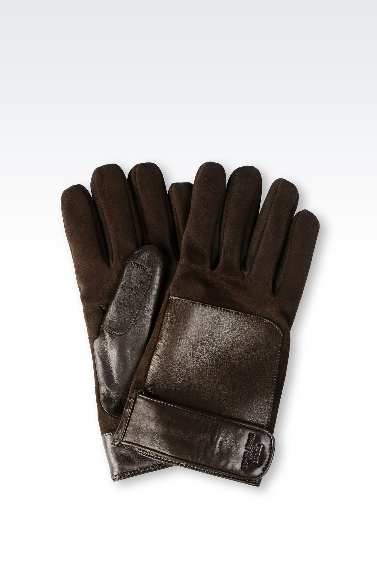LAMBSKIN GLOVE: Gloves Men by Armani - 0