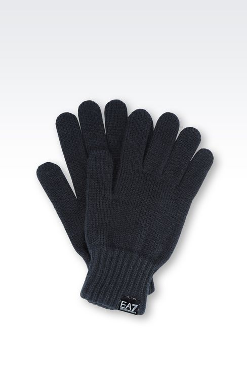 GLOVE WITH LOGO: Gloves Women by Armani - 1