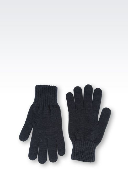 GLOVE WITH LOGO: Gloves Women by Armani - 2