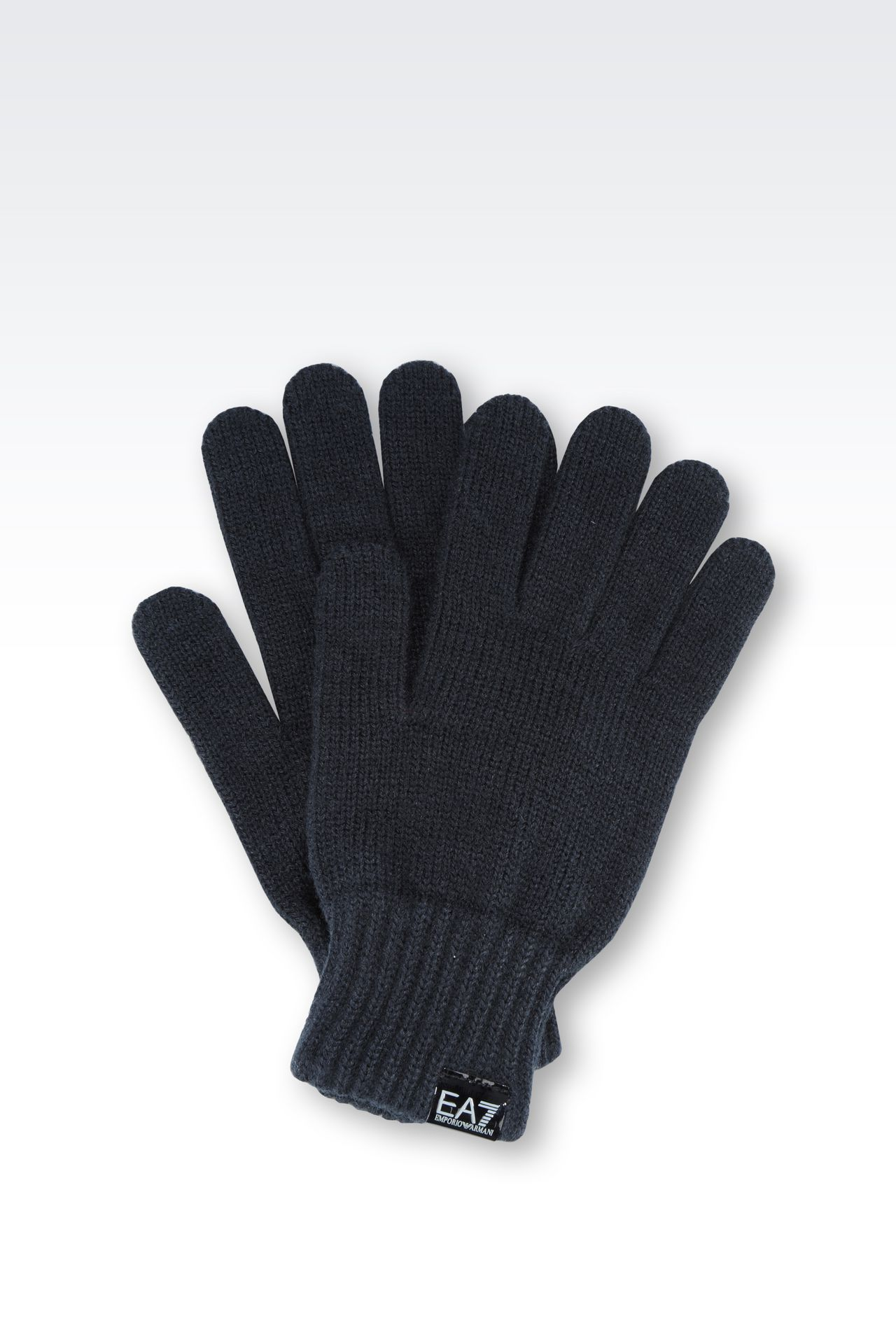 GLOVE WITH LOGO: Gloves Women by Armani - 0