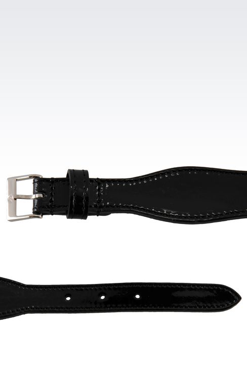 PATENT BELT: Leather belts Women by Armani - 2