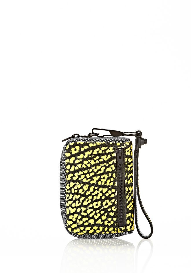 ALEXANDER WANG LARGE FUMO IN CONTRAST TIP CITRON Wallets Adult 12_n_a