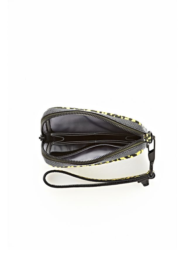 ALEXANDER WANG LARGE FUMO IN CONTRAST TIP CITRON Wallets Adult 12_n_d