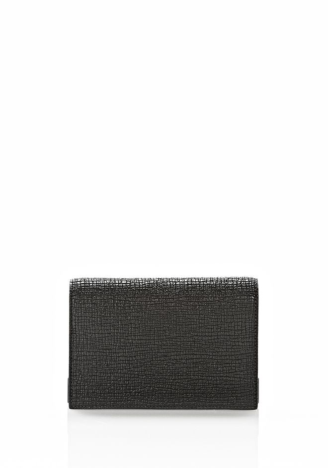 ALEXANDER WANG PRISMA BIKER PURSE IN EMBOSSED BLACK Wallets Adult 12_n_e