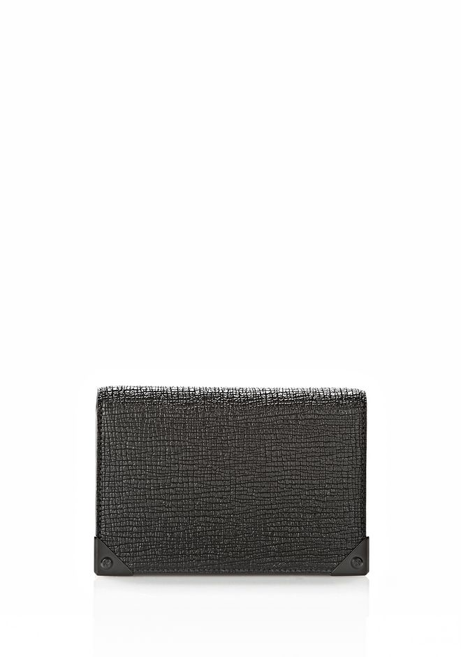 ALEXANDER WANG PRISMA BIKER PURSE IN EMBOSSED BLACK Wallets Adult 12_n_f