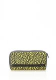 ALEXANDER WANG FUMO CONTINENTAL WALLET IN CONTRAST TIP CITRON Wallets Adult 8_n_e