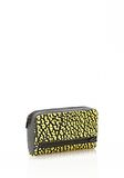 ALEXANDER WANG FUMO CONTINENTAL WALLET IN CONTRAST TIP CITRON Wallets Adult 8_n_r