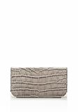 ALEXANDER WANG PRISMA  CONTINENTAL WALLET IN OYSTER Wallets Adult 8_n_e