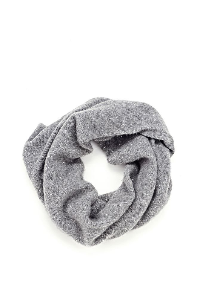 ALEXANDER WANG CASHMERE DONEGAL ENDLESS SCARF Scarf & Hat Adult 12_n_f