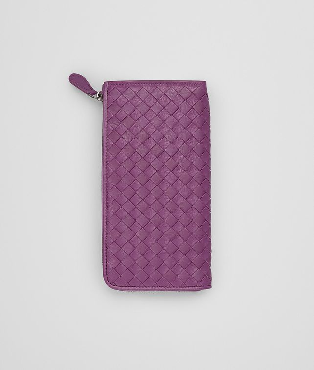BOTTEGA VENETA MONALISA INTRECCIATO NAPPA ZIP AROUND WALLET Zip Around Wallet D fp