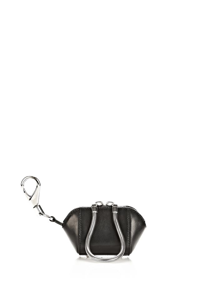 ALEXANDER WANG RUNWAY MINI MAKE UP POUCH IN BLACK