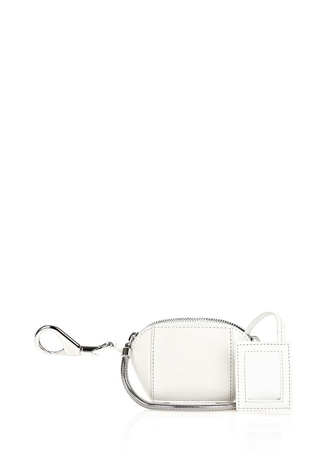 RUNWAY MINI MAKE UP POUCH IN SILICA