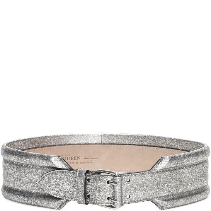Alexander McQueen, Metallic Padded Belt