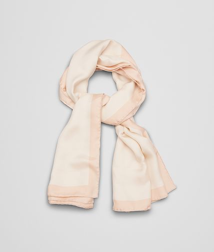 FOULARD IN POWDER PINK SILK