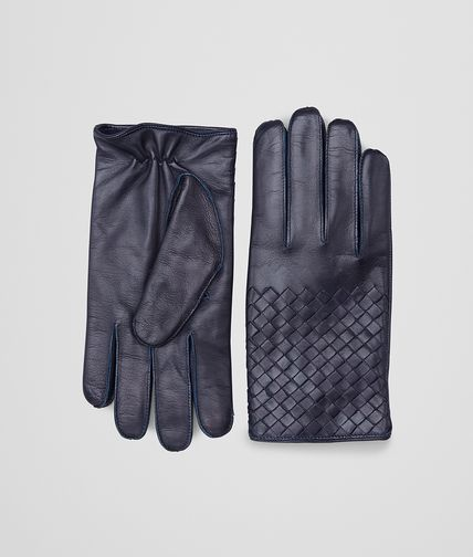 GUANTI DARK NAVY IN NAPPA