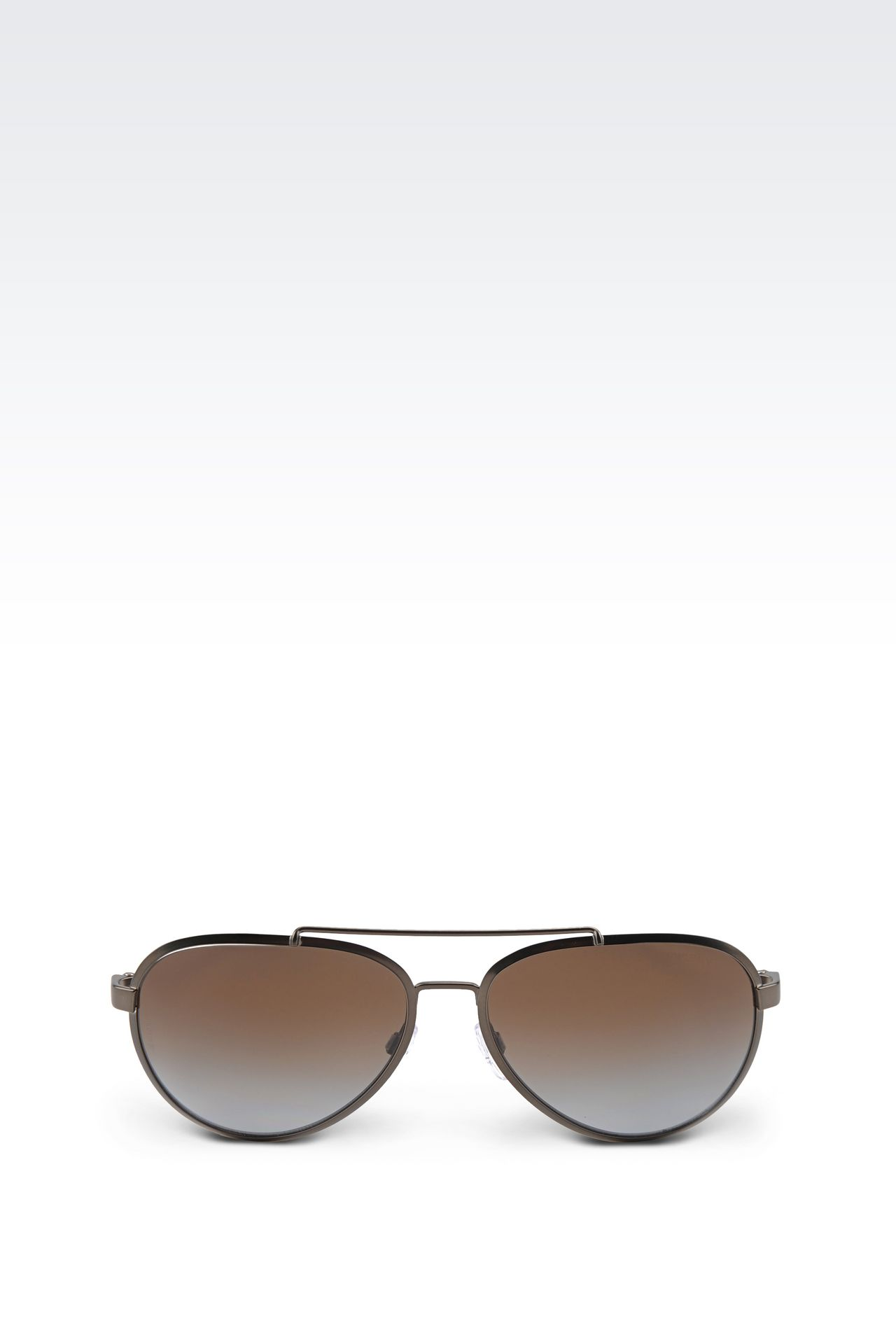 aviator frame glasses  metallic/plastic frame