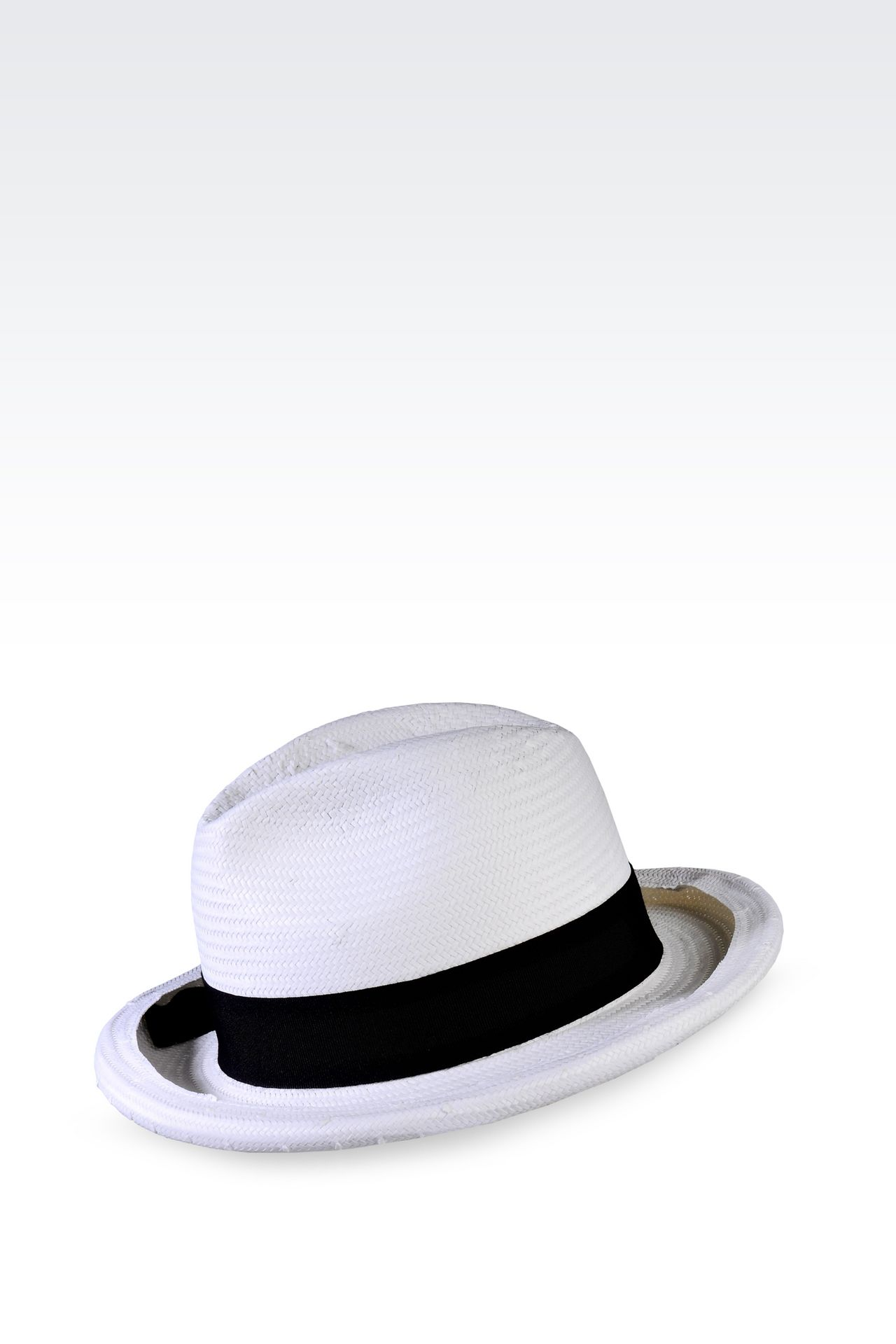 CLASSIC TWO-COLOUR HAT: Hats Women by Armani - 0