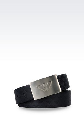 Armani Belts Men reversible calfskin belt