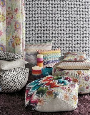 missoni home poufs missoni home on missoni online store. Black Bedroom Furniture Sets. Home Design Ideas