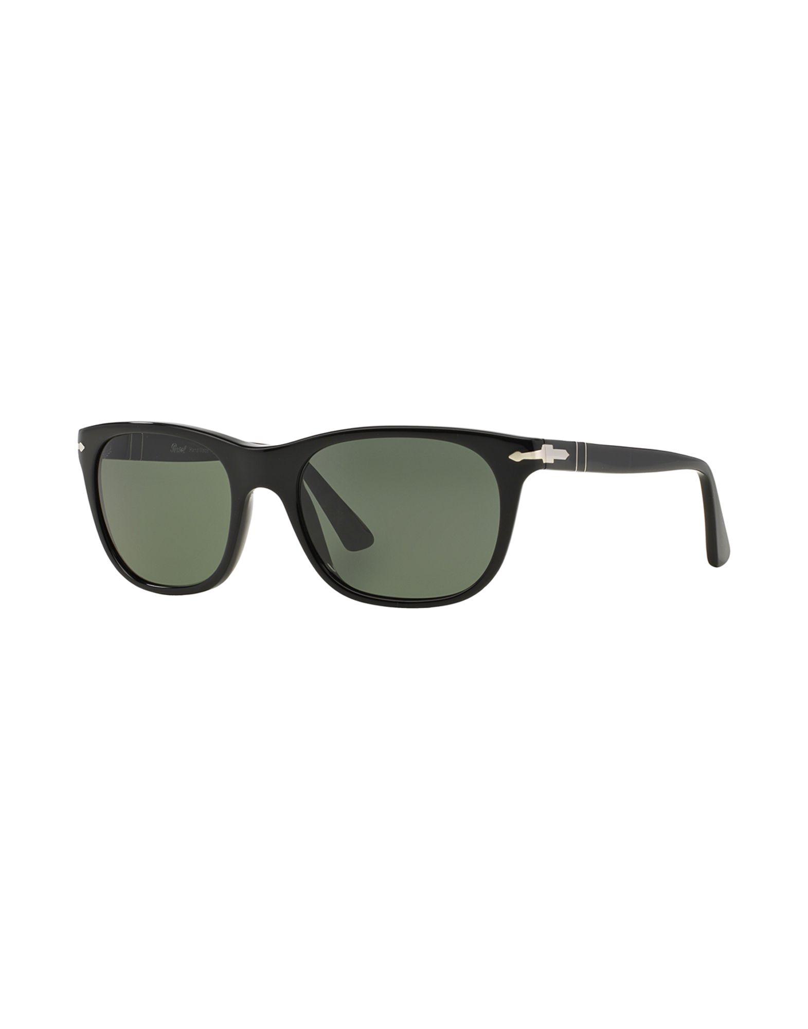 PERSOL Herren Sonnenbrille Farbe Schwarz Größe 10