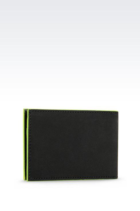 designer money clip and card holder  armani men card