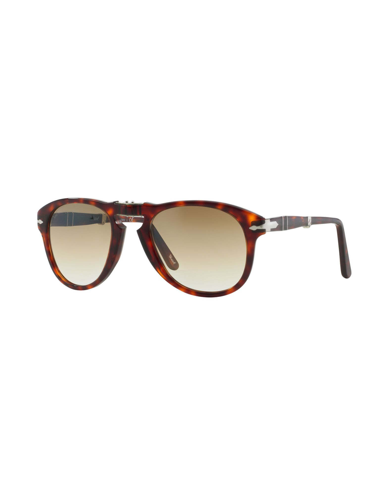 PERSOL Herren Sonnenbrille Farbe Dunkelbraun Größe 15