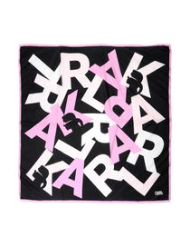KARL LAGERFELD - Square scarf