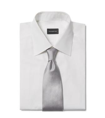 ERMENEGILDO ZEGNA: Tie Grey - 46394419EF