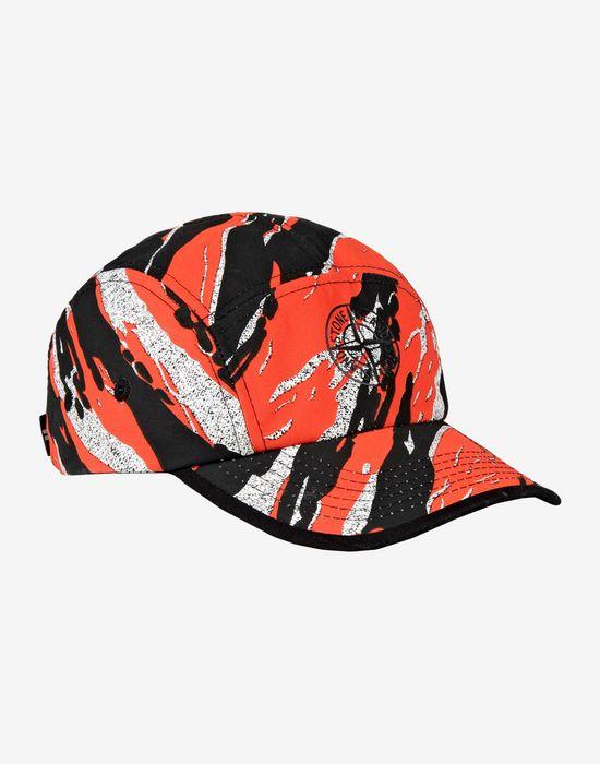 9e7cc47de80 90164 TIGER STRIPE CAMO Hat Stone Island - Official Online Store